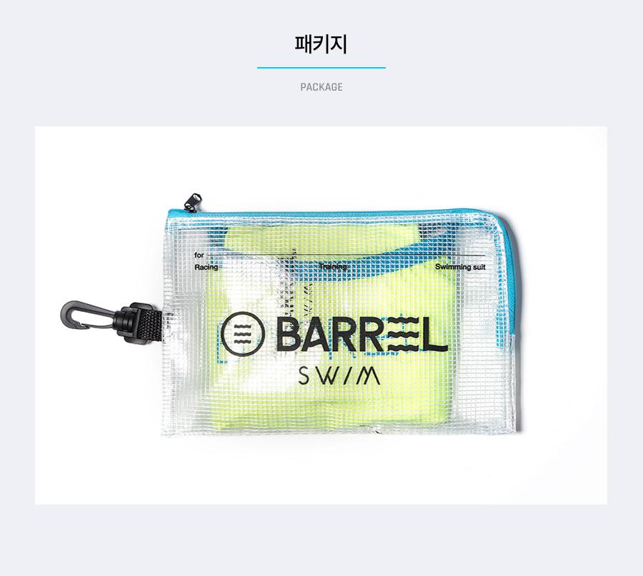 배럴(BARREL) 우먼 트레이닝 T 패턴 V-백 스트랩 스윔슈트 플래쉬 (BWIWSWO036FLHXS)